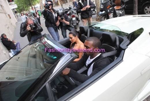 Kim Kardashian & Kanye West Celebrated Engagement