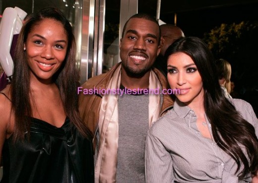 Hollywood Celebrities Kim Kardashian & Kanye West