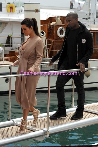 Kim and Kanye Celebrities