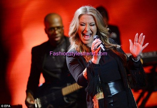 Hollywood Singer Anastacia