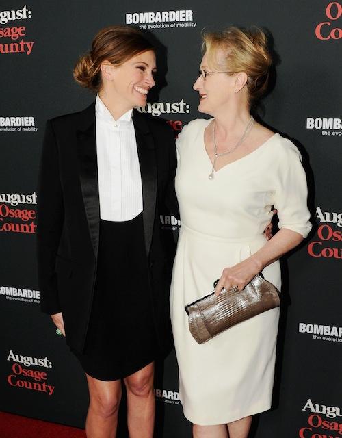 Julia Roberts & Kim Basinger on Red Carpet 2013