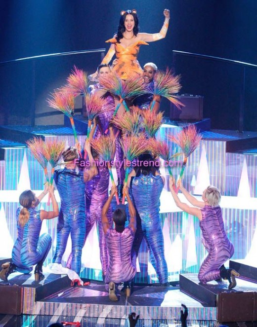 Celebrity Katy Perry Performed