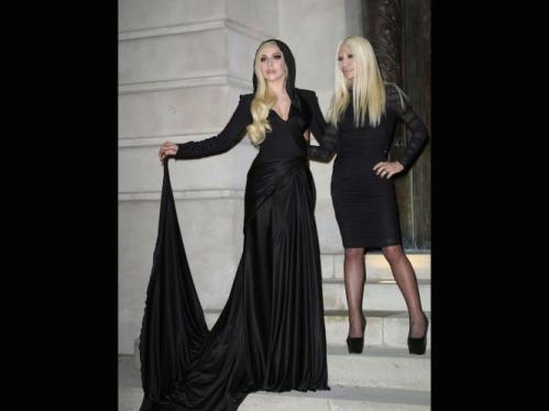 Lady Gaga and Donatella Versace Best Dresses Picture