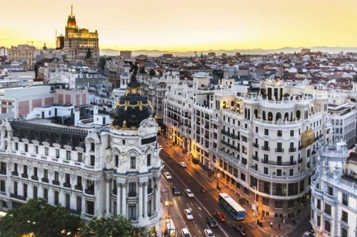 Madrid Luxury Shopping Destination Photos