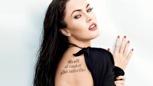 Beautiful Actress Megan Fox Photos