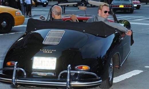 Michael Fassbender with Porsche 356 Photos