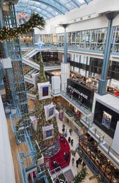 Montreal Luxury Shopping Destination Pictures