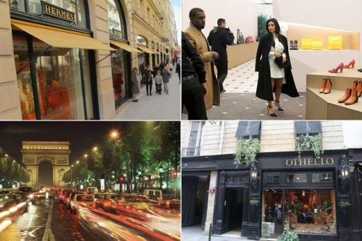 Paris Luxury Shopping Destination Pictures