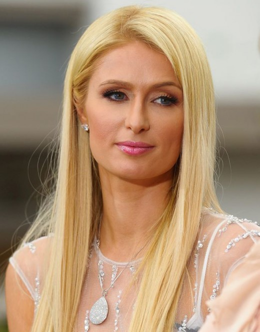 Paris Hilton with her Yukon Hybrid Cool Car Pictures