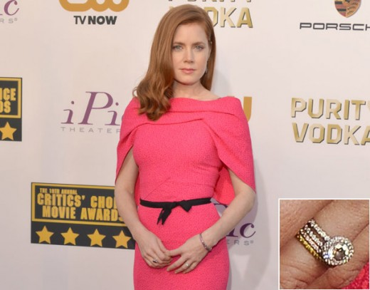 Amy Adams Engagement Rings
