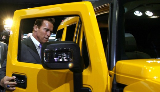 Arnold schwarzenegger super car hummer photos fashion for Christina hummer