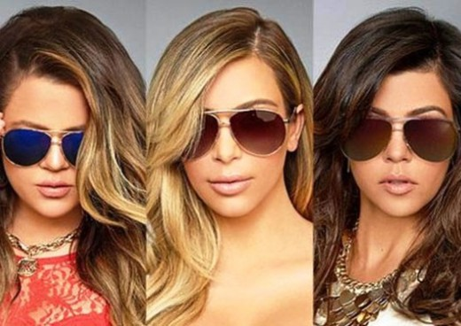 The Kardashian sisters release a new line of sunglasses