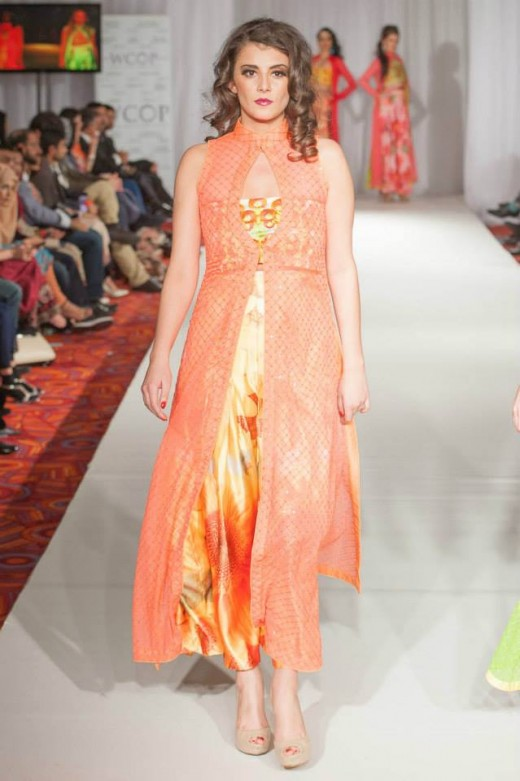 New York Fashion Week 2014 Beautiful Models catwalk on Ramp