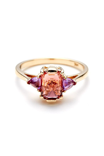 33 Quirky Engagement Rings For Alt Brides