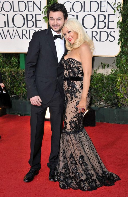 Christina Aguilera Pleased with Her Second Pregnancy
