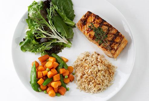 East smaller meals