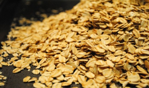 Oats for slow-release energy