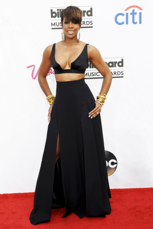 Nicki Minaj & Kelly Rowland Have Hot Look at Red Carpet