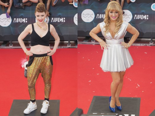 Kiesza and Victoria Duffield