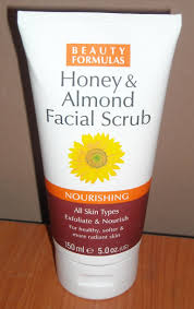 Almonds and Honey Face Scrub