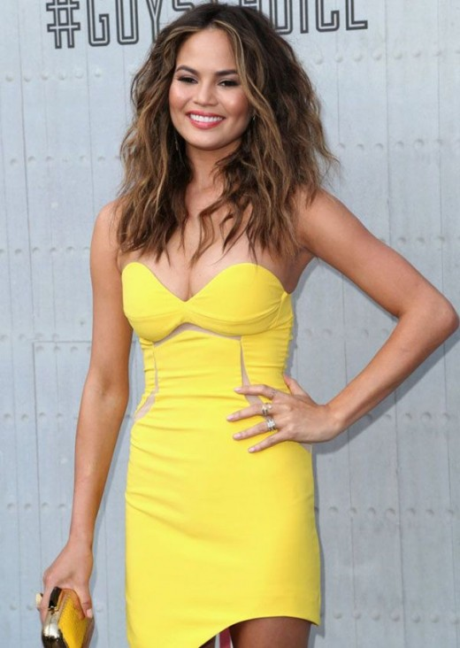 Hottest Hollywood Celebrities Are Wearing Yellow Fashion