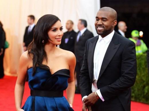 Kanye West and Kim Kardashian are husband and wife