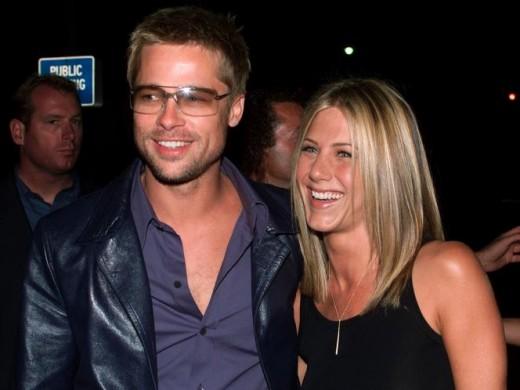 Brad Pitt and Jennifer Aniston - $1 million