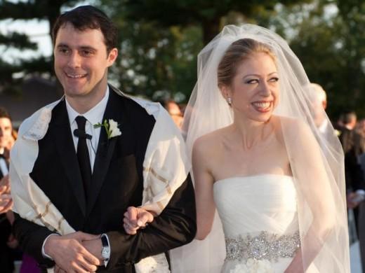 Chelsea Clinton and Marc Mezvinsky - $2.5 million
