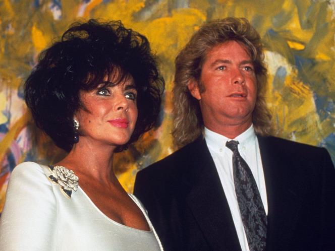 Elizabeth taylor and larry fortensky 3 8 million fashion style