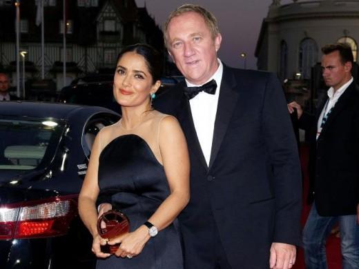 Salma Hayek and François-Henri Pinault - $3.5 million
