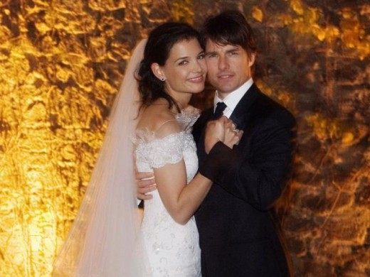 Tom Cruise and Katie Holmes - $2 million