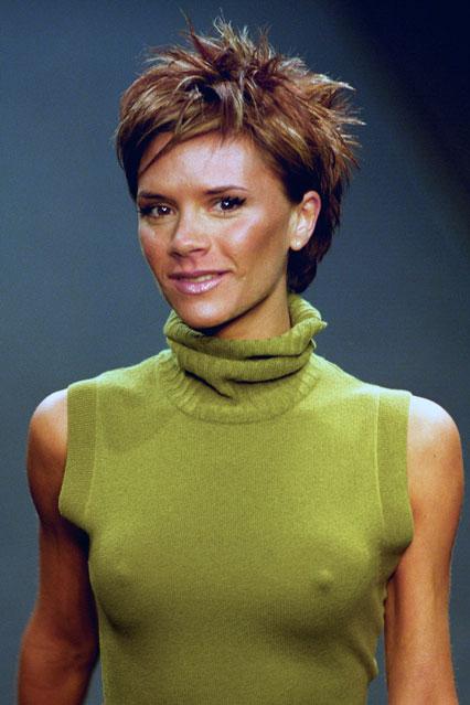 Beckham's Cover Hair Undoing A Do