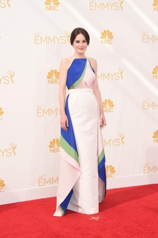 Michelle Dockery Wears Emmy Dress 2014