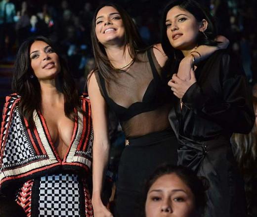 Kim Kardashian Kylie & Kendall Jenner Pictures