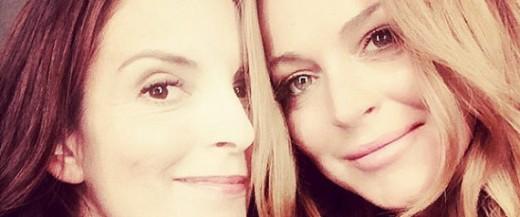 Lindsay Lohan Pressed Tina Fey A 'Mean Girls' Sequel Again