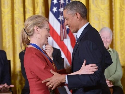 American President Expresses Love for Meryl Streep