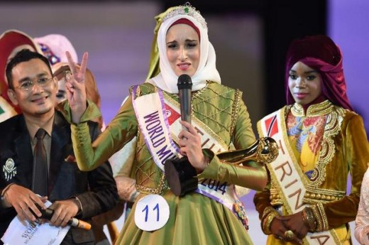 Tunisians Fatima Win the Muslimah Title Award 2014