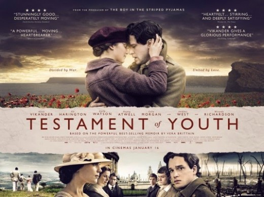 British Romantic Movie Testament of Youth Trailer