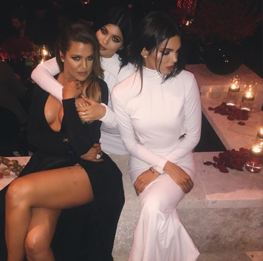Jenner Sisters with khloe Kardashian Pictures
