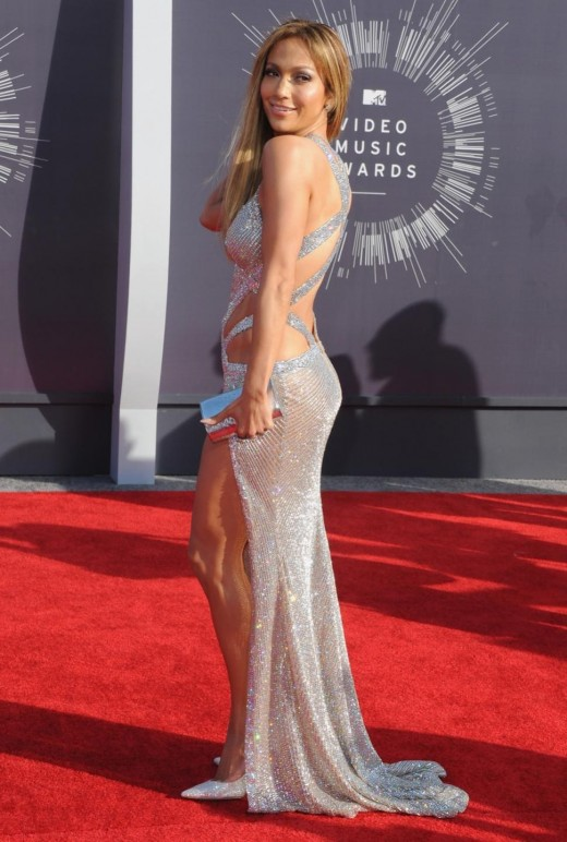 Jenifer Lopez at 2014 Red Carpet - 2014 MTV Video Music Awards -