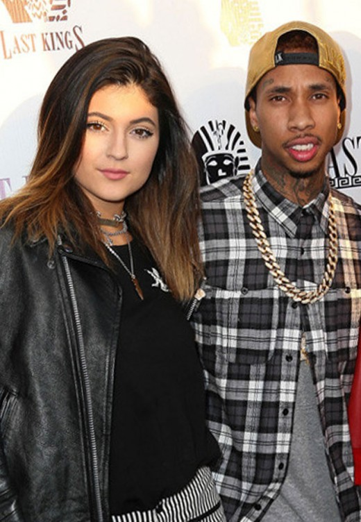 Kylie Jenner & Tyga's Very Intimate Dinner Date