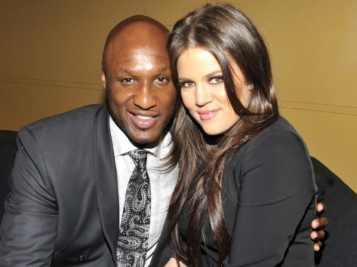 Khloe Kardashian & Lamar Odam
