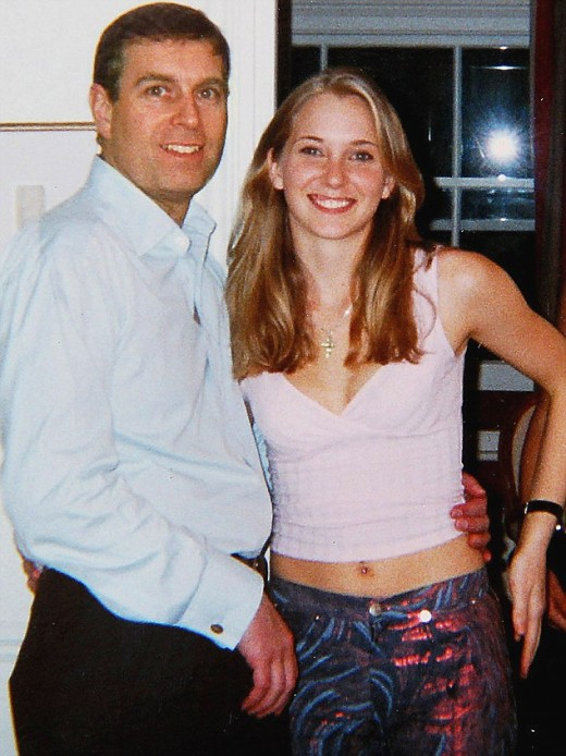 Prince Andrew & Virginia Roberts Pictures