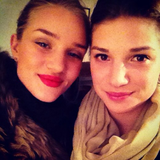 Rosie and Florence Huntington-Whiteley