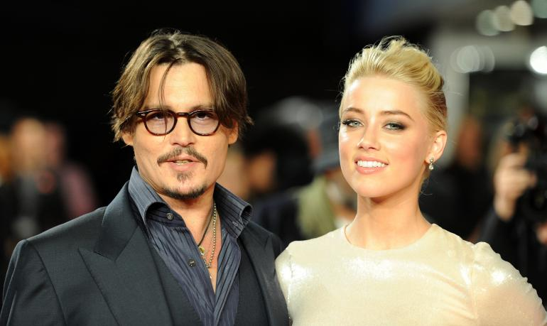 Johnny Depp and Amber Heard got married