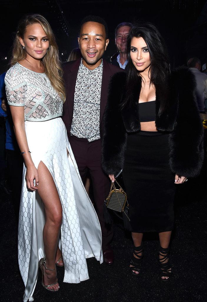 Kim Kardashian Chrissy Teigen Waffle House Pictures