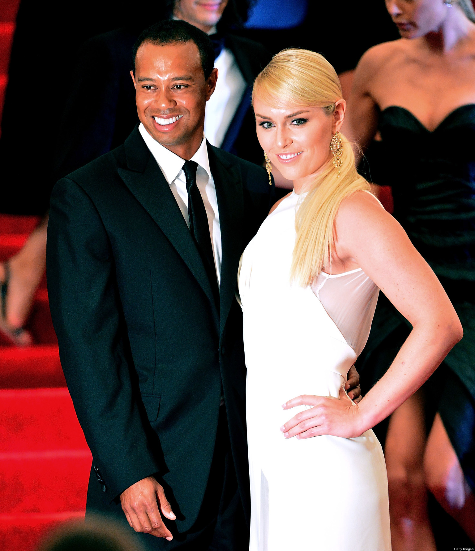 Lindsey Vonn & Tiger Woods Pictures