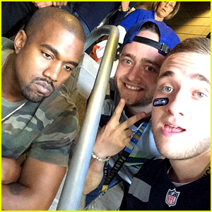 Kanye West's Sad Selfie at Super Bowl 2015