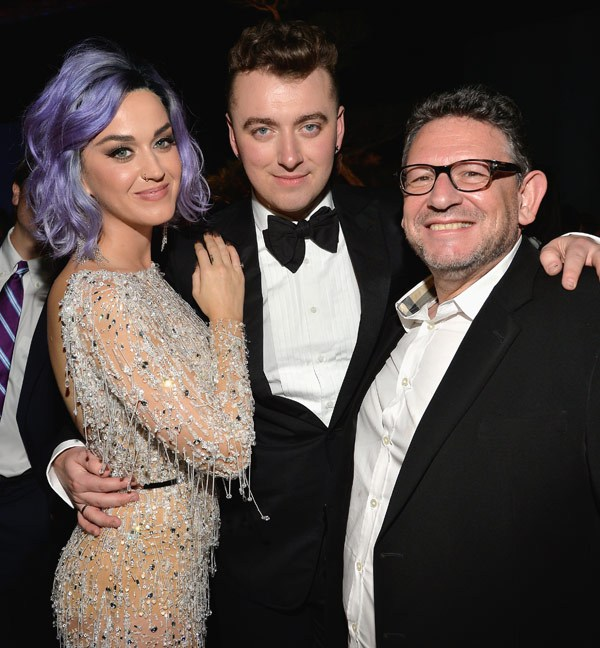 katy perry & sam smith at grammys 2015