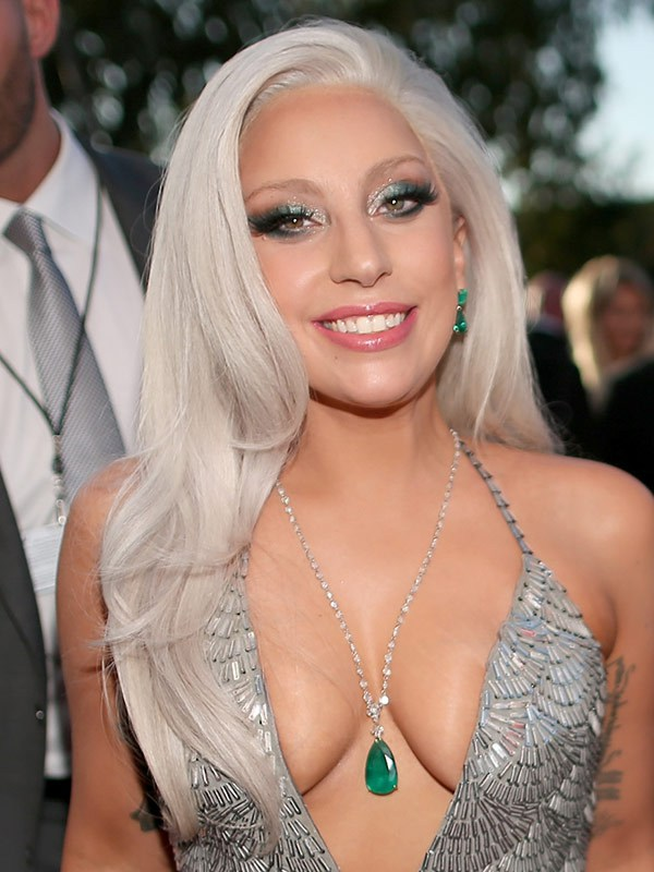 lady gaga grammys 2015 pictures